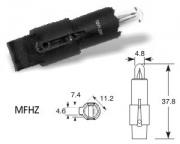 12V 1.2W  MFHZ black