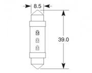 12V 23mA SV8-8,5 11x35mm LED