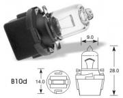 12V 3W B10d halogen