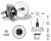 12V 45/40W P45t R2