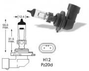 12V 53W PZ20d H12