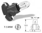 14V 1.4W T-1/4NW black