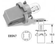 24V 1W EBSN7 grey