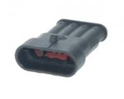 4Way male connector+terminals+seals1,5mm