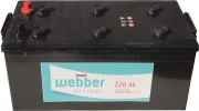 Autobat�ria WEBBER 12V 220Ah