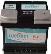 Autobatéria WEBBER   12V/45 Ah