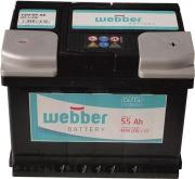 Autobat�ria WEBBER   12V/55 Ah