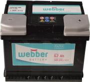 Autobatéria WEBBER   12V/62 Ah