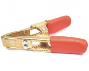 Charging clip 600A - red, brass