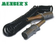 Electr.coil 24V 4,5m 30mm metal plugs S