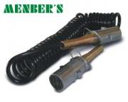 Electric.coil 24V 4,5m 30mm metal plug N