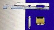 Koncovka colného lanka 8mm