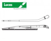 LUCAS-Rear blade with arm,Fit D,410mm