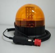 Maják magnetický 40 LED _ 12/24 V - 3 funkcie