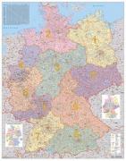 N�stenn� mapa Nemecko PS� papierov� 1:700 tis.