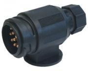 Plug 12V 13-pin-plastic