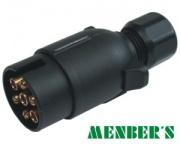 Plug 7-pin 12V plastic