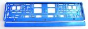 Podl. ŠPZ modrá metal. E95581420