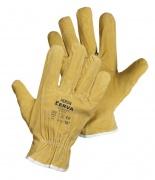 Pracovné rukavice HERON celokožené