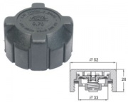 Radiator cap 100kPa-plastic