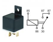 Relay norm.open 24V 20A 4 pins w.brac.