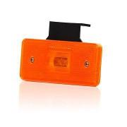 Svetlo pozi�n� 1 LED W17du 12-24V oran�ov� s dr�iakom