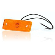 Svetlo pozi�n� 1 LED W44u 12-24V oran�ov�