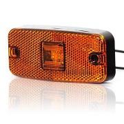 Svetlo pozičné 1 LED W46u 12-24V oranžové