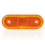 Svetlo pozi�n� 20 LED W47wwu 12-24V oran�ov�