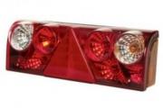 Svetlo zadné EuroPoint II so zásuvkou - pravé