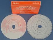 Tachografick� kr�ky BLUMBERG 125 Dual