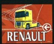Zásterka 60x48cm digi RENAULT červená