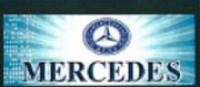 Z�sterka 64x28cm digi MERCEDES modr�